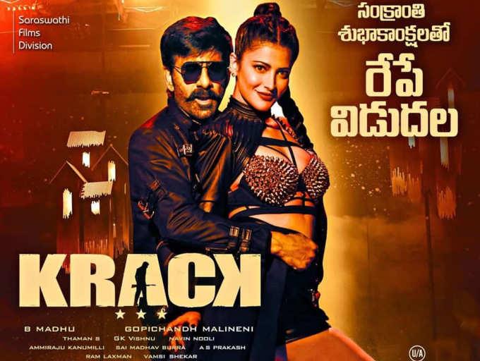 Krack Movie Download in Hindi 480p filmyzilla