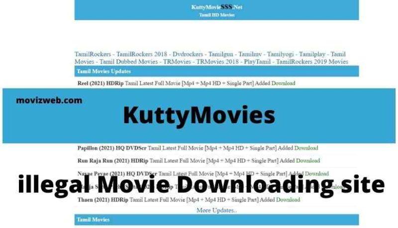 KuttyMovies downloading site