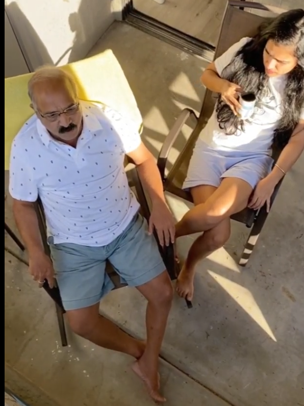 aanchal agrawal (awwwnchal) with her father photos