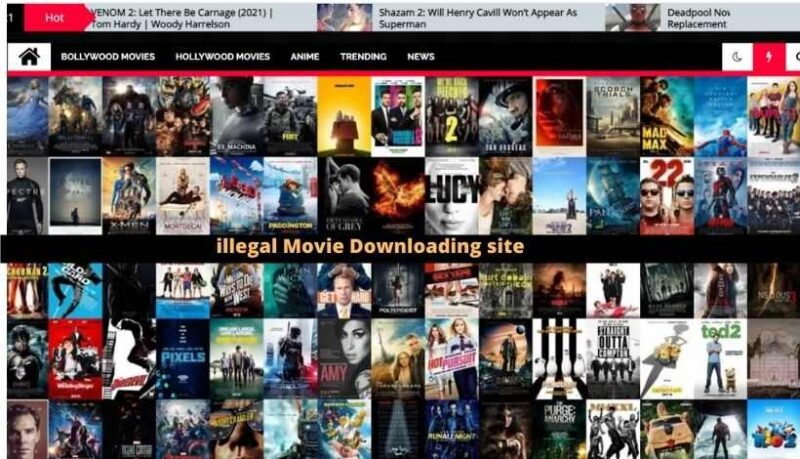 Movie Downloading site