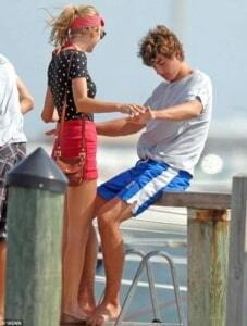 Conor Kennedy and Taylor