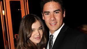 Hailee with her brother griffin