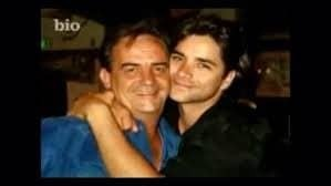 John Stamos with his father