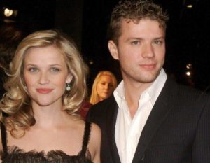 Reese Witherspoon with ex husband Ryan-Phillippe