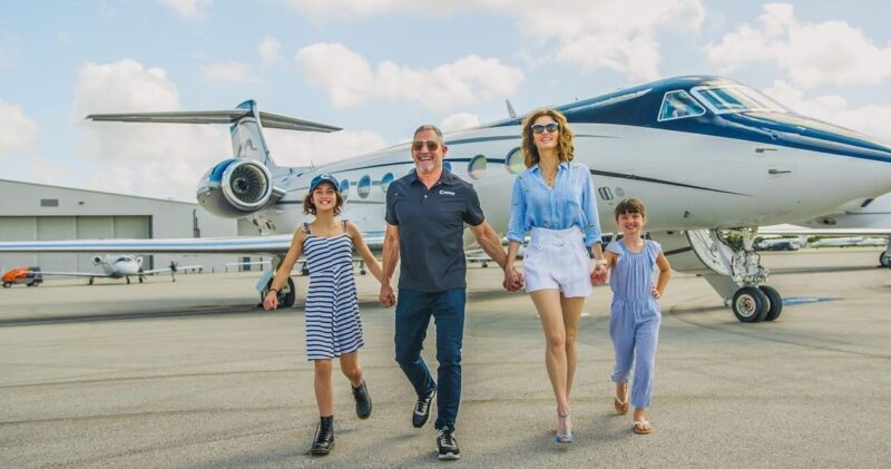 grant cardone with his family